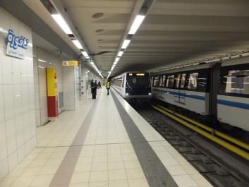 Visite du ministre des Transports et des Travaux publics aux projets du métro d'Alger