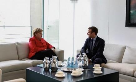 Le président français macron sera reçu par merkel lundi à berlin