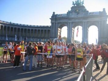 Semi-marathon de Bruxelles: des participants soutiennent le droit du peuple  sahraoui à l'autodétermination