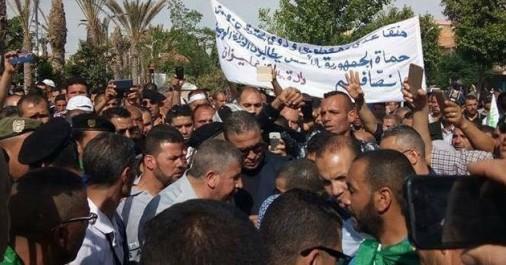 Durement réprimés et interdits d'entrer dans le territoire de la capitale: Les retraités de l'ANP suspendent leur marche