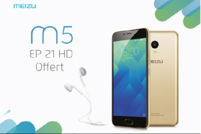 Le Meizu M5 désormais disponible en Algérie : Le Smartphone Full 4G