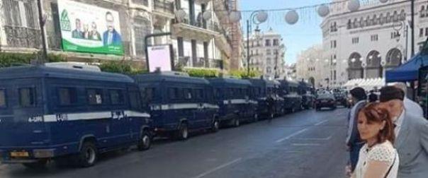 Alger bloquée, la manifestation des retraités de l'ANP avortée