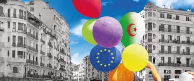 18e festival culturel européen en Algérie Lemma Becharia et Thérèse Henry en ouverture