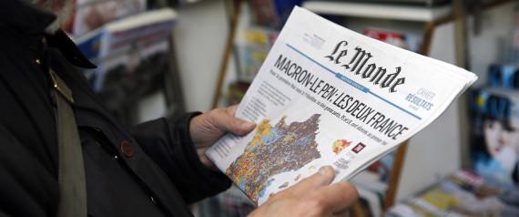 Privé de visa, le journal Le Monde fait un live des Législatives