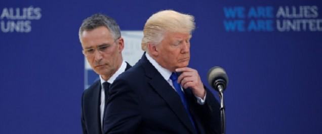 A l'Otan, Trump bouscule ses Alliés et refuse de s'engager
