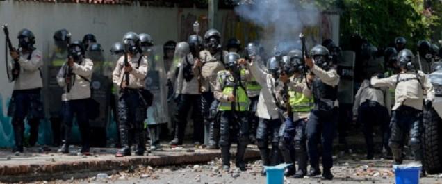 Venezuela: heurts entre policiers et étudiants qui manifestent