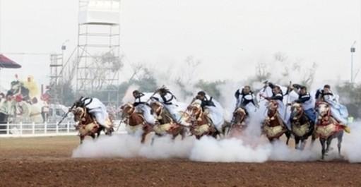Equitation traditionnelle: Festival de fantasia à Sidi El Djillali