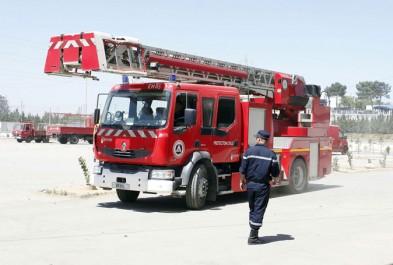 39 commerces ravagés par un incendie à Rahbet El Djemal
