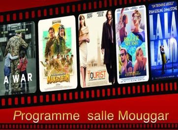 Cinéma: Programme de la salle El Mouggar pour le mois de Mai