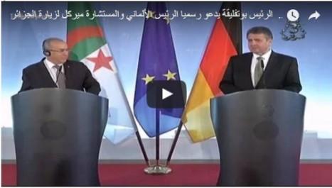 Vidéo: Bouteflika invite Angela Merkel en Algérie
