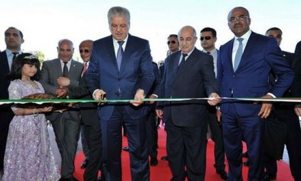 Sellal inaugure la 50e édition de la Foire internationale d'Alger