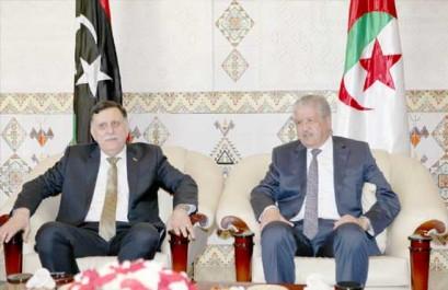 M. Sellal reçoit M. Fayez al Sarraj : Aux côtés du peuple libyen en toute circonstance