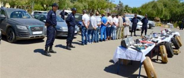 La police nationale a démantelé un réseau international de trafic de voitures volés