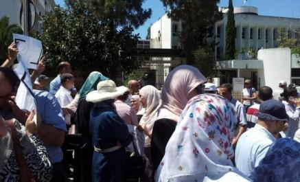 Enseignant assassiné à Tipaza: rassemblement devant le ministère de l'enseignement supérieur