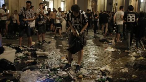 1000 blessés dans un mouvement de panique à Turin lors de la finale de la Ligue des champions
