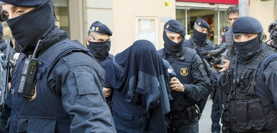 Arrestation en Europe de 6 terroristes présumés
