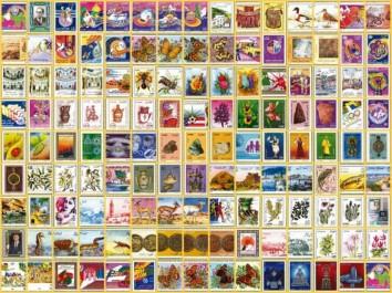 Emission de quatre timbres-poste dédiés aux cascades en Algérie
