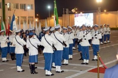 Sortie de la première promotion de lieutenants de police promus sur la base du diplôme