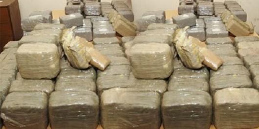 7 narcotrafiquants arrêtés et 127 kgs de kif traité saisis