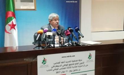 Ahmed Ouyahia dément la suppression du poste de ministre d'Etat