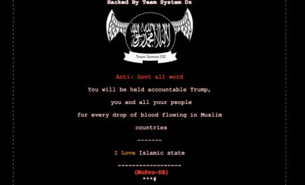 Des hackers pro-DAESH algériens piratent des sites gouvernementaux américains