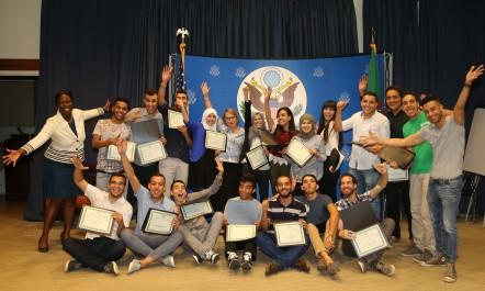 L'ambassadeur Polaschik félicite 18 jeunes leaders algériens