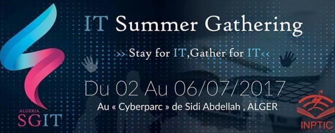 «IT-Summer Gathering Algeria», le premier rassemblement des passionnés des TIC en juillet à Alger