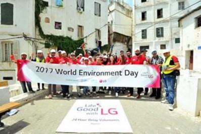 Journée mondiale de l'environnement 2017: Les employés de LG rassemblés pour une cause digne