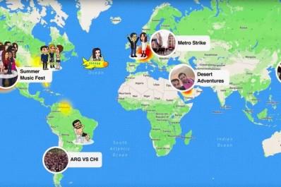 Snapchat toujours plus porté sur la géolocalisation avec Snap Map