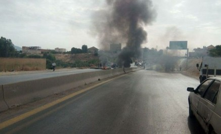 Tizi-ouzou: la RN 12 reliant Béjaia à Alger fermée au niveau de Oued Aïssi