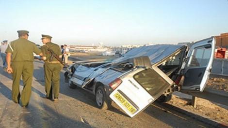 Chlef: Deux morts dans deux accidents de la route