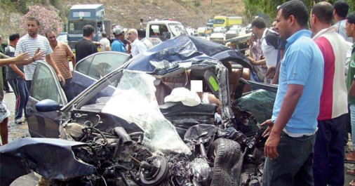 Accidents de la route: 12 morts en une semaine