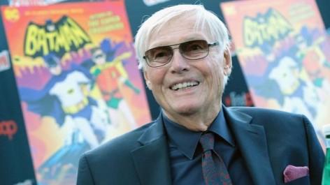 Adam West, le Batman de la série des années 1960, est mort