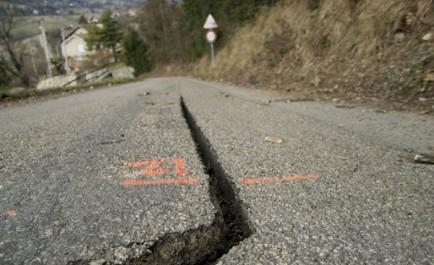 Bouira: Affaissements de terrain sur la RN15