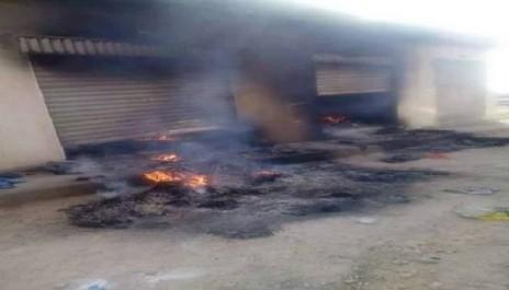 Aïn Beïda: Mise à feu de plusieurs locaux abritant des réfugiés subsahariens