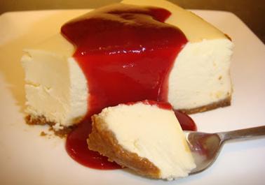 Véritable cheesecake New Yorkais