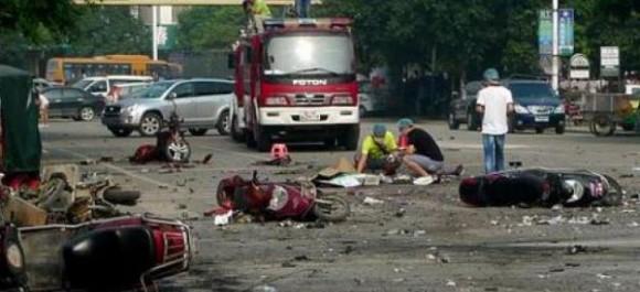 Chine: 7 morts et 66 blessés suite à une explosion devant une maternelle
