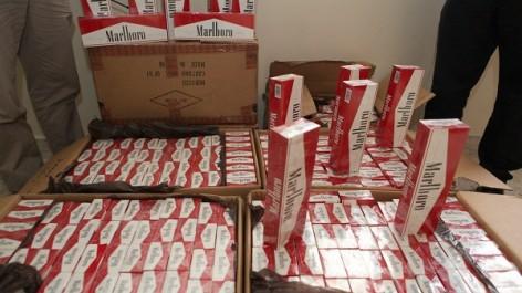 Tébessa: Saisie de 4 000 paquets de cigarettes et tabac pour narguilé