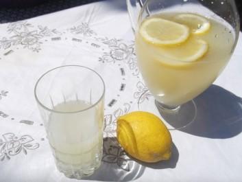 Cherbet, citronnade algérienne