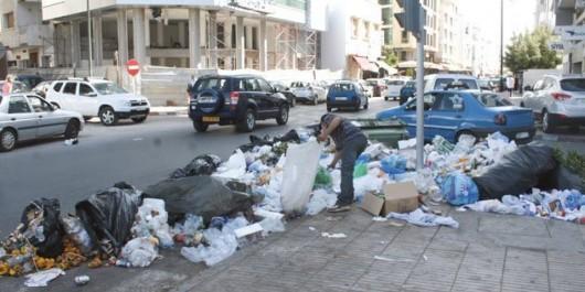 Relizane: Progression massive des quantités de déchets domestiques