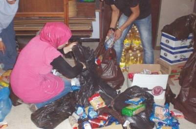 Couffins de solidarité à Aïn El-Hammam:  Les jeunes s'en mêlent