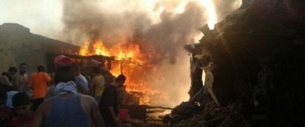 Fès: Un incendie ravage plus de 120 baraques
