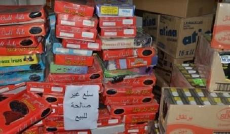 Sidi Bel Abbès: Des tonnes de denrées alimentaires impropres à la consommation saisies