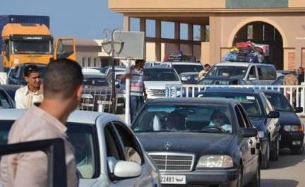 Le passage des véhicules vers la Tunisie facilité