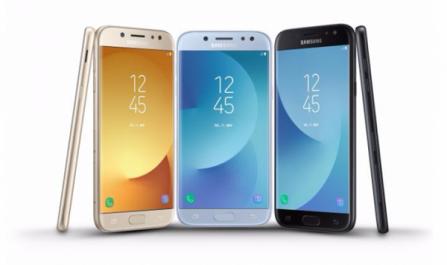 Samsung Galaxy J3 2017, J5 2017 et le J7 2017 dévoilés – caractéristiques et prix