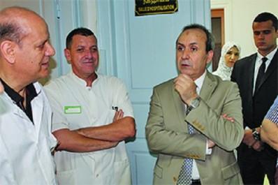 Le ministre de la Santé reçoit les secrétaires généraux de deux syndicats du secteur