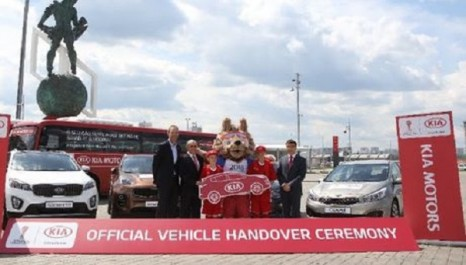 FIFA : Hyundai-Kia, transporteur officiel de la Coupe des Confédérations