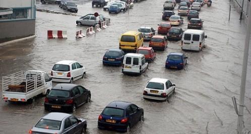 El Tarf: Des pluies diluviennes se sont abattues sur le chef-lieu