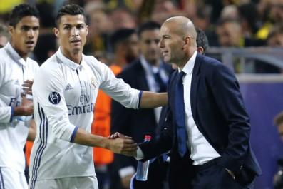 Real – Ronaldo : «Aujourd'hui, j'admire encore plus Zidane»