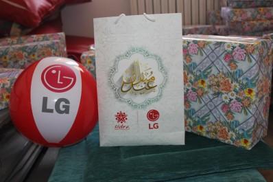 LG Algerie se mobilise au profit des enfants souffrant de cancer.